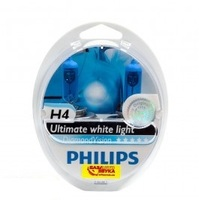 Галогенная лампа Philips H4 DiamondVision 12V 55W (12342DVS2)