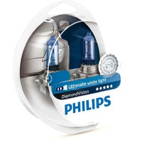 Галогенная лампа Philips H1 DiamondVision 12V 55W (12258DVS2)